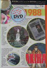 DVD Gift Card Various Years 1978 -1988