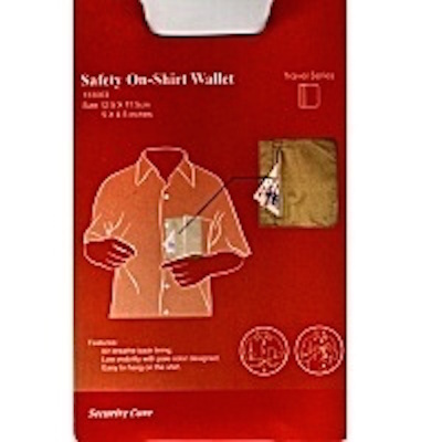 Travel Safety Wallet