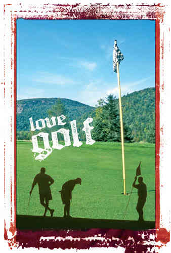 DVD Gift Card Love Golf