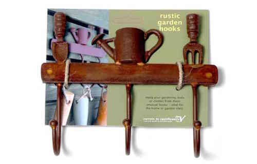 Apples To Pears Rustic Garden Hooks