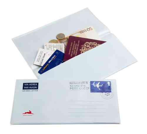 Airmail Travel Document Holder
