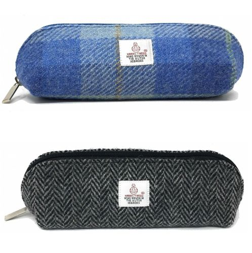 Traditional Harris Tweed Pencil Case Choice of Colour