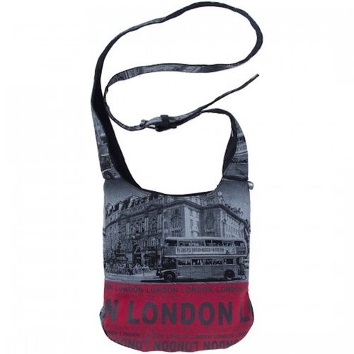 Robin Ruth London Photo Bus Red Small Sling Bag